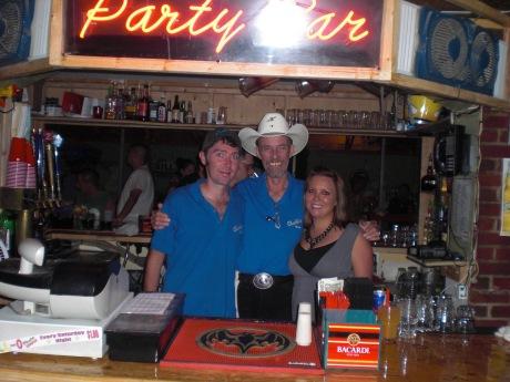 Jon, Bob, and I at the Party Bar