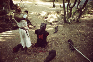 It's Just a Flesh Wound - come back and fight. coward!