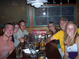 Hawks - three cheers for beers!
